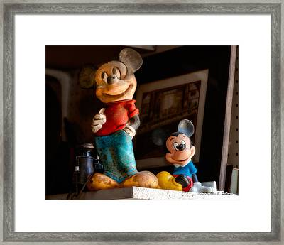 Pair Of Mickies Framed Print by Christopher Holmes