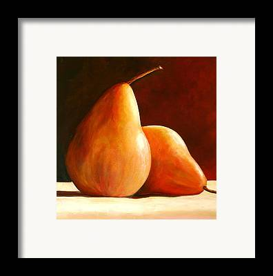 Pears Framed Prints