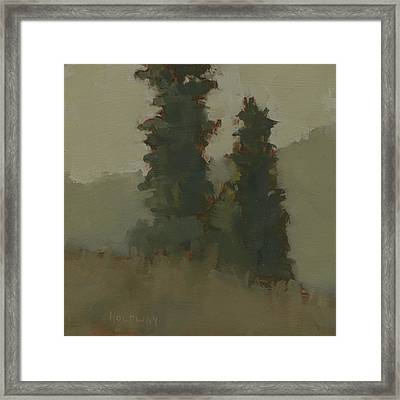 Pair Of Trees Framed Print