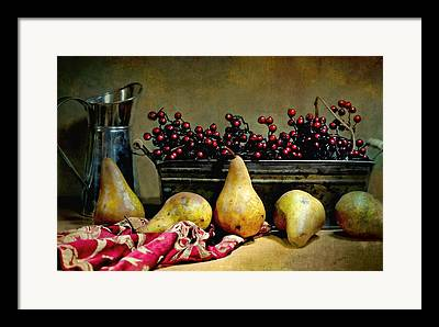 Still Life With Old Pitcher Photographs Framed Prints
