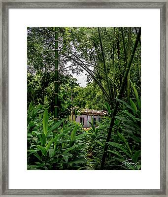 Framed Print featuring the photograph Paiseje Colombiano #10 by Francisco Gomez