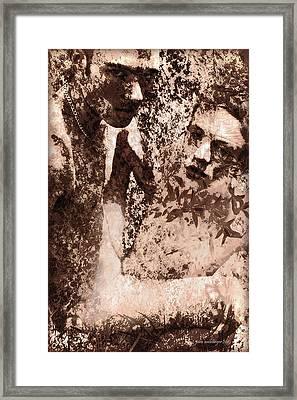 Paisley Fields Forever Framed Print