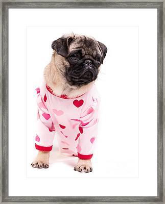 Pajama Party Framed Print by Edward Fielding