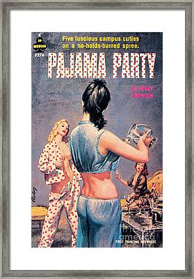 Pajama Party Framed Print by Paul Rader
