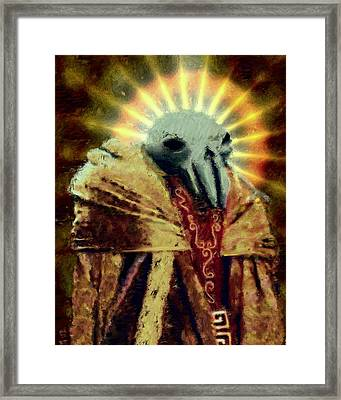 Pak'ma'ra Most Regal Framed Print