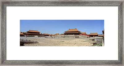 Palace Area Of The Forbidden City Framed Print by Panoramic Images