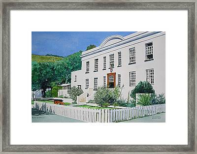 Palace Barracks Framed Print by Tim Johnson