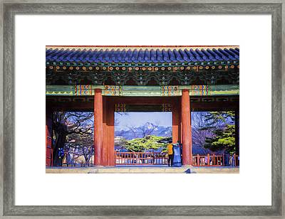 Palace Entry II Framed Print