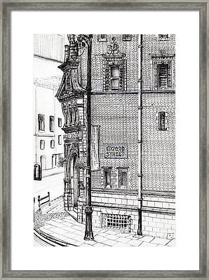 Palace Hotel Oxford Street Manchester Framed Print by Vincent Alexander Booth