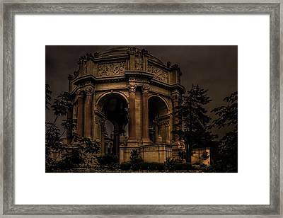 Framed Print featuring the photograph Palace Of Fine Arts - San Francisco by Ryan Photography