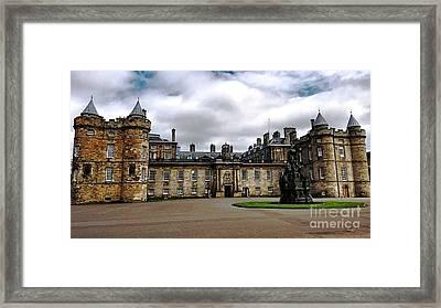 Palace Of Holyroodhouse  Framed Print by Judy Palkimas