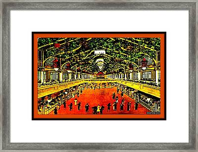 Palace Of Joy Dance Hall And Skating Rink, Coney Island, 1910 Framed Print