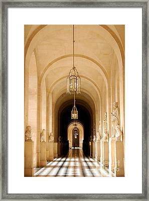 Palace Of Versailles Framed Print by Ivy Ho