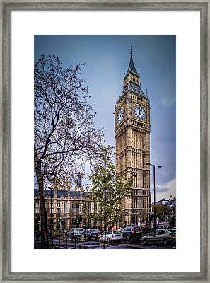 Palace Of Westminster London Framed Print