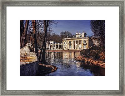 Palace On The Water  Framed Print