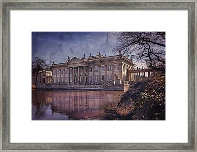 Palace On The Water  Warsaw Framed Print by Carol Japp
