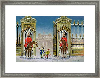 Palace Presents Framed Print by Stanley Cooke