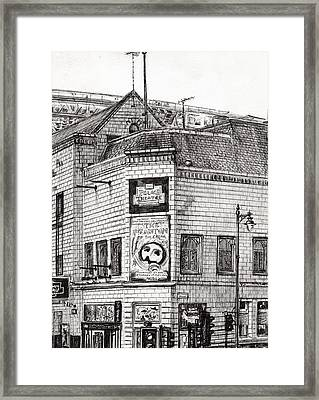 Palace Theater Manchester Framed Print