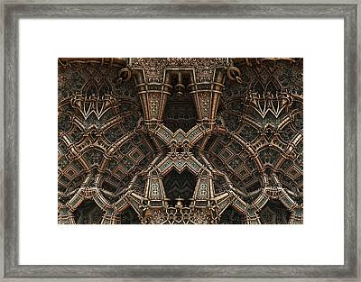 Palace Wall Framed Print