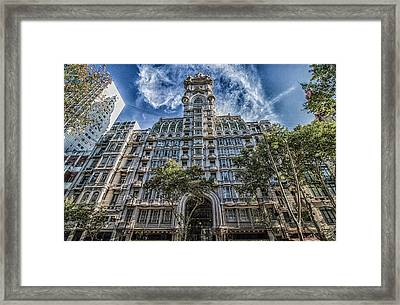 Palacio Barolo, Buenos Aires, Argentina Framed Print