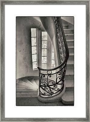 Palacio Barolo Stairs Buenos Aires Framed Print