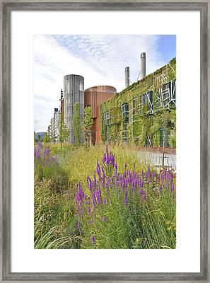 Palacio Congresos Europa Framed Print