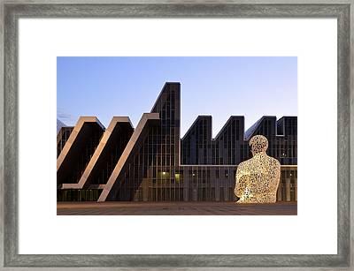 Palacio De Congresos Zaragoza Spain Framed Print