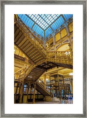 Palacio De Correos  Framed Print
