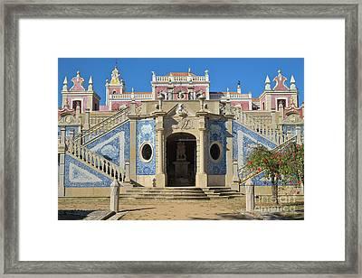 Palacio De Estoi Front View Framed Print