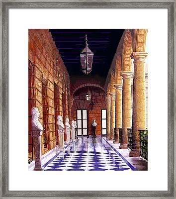 Palacio Framed Print by Jose Manuel Abraham