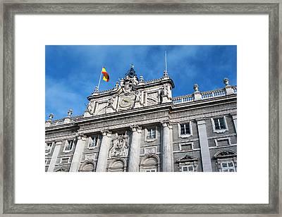 Palacio Real Framed Print