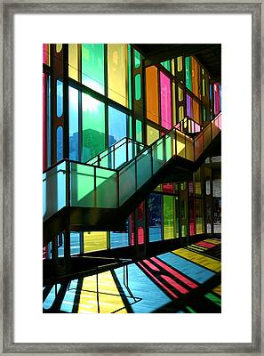 Palais Des Congres Montreal Canada Framed Print by Pierre Leclerc Photography