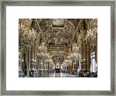 Palais Garnier Grand Foyer Framed Print