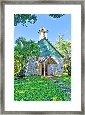 Palapala Ho'omau Congregational Church Framed Print