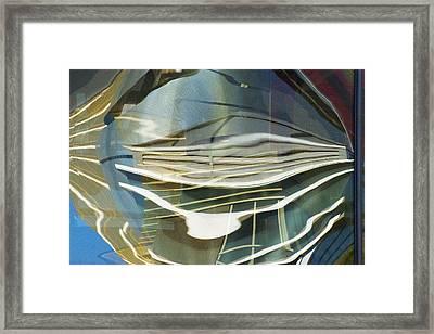 Palazo Hotel Reflection Framed Print by Richard Henne