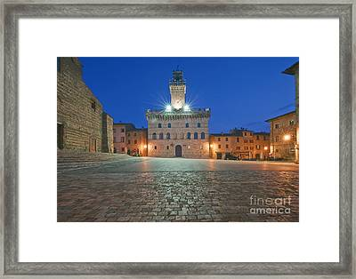 Palazzo Comunale Framed Print