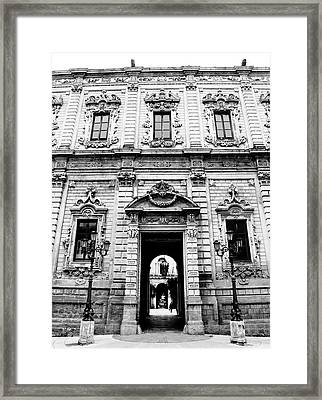 Palazzo Dei Celestini Framed Print
