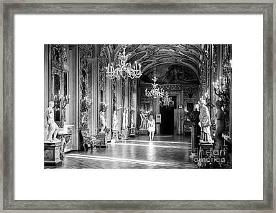 Palazzo Doria Pamphilj, Rome Italy Framed Print