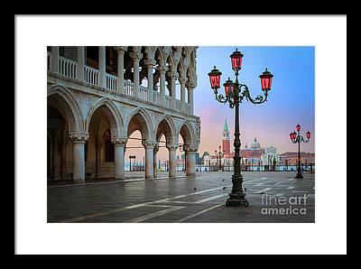 Lamp Photographs Framed Prints