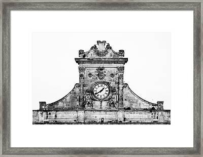 Palazzo Municipale Framed Print