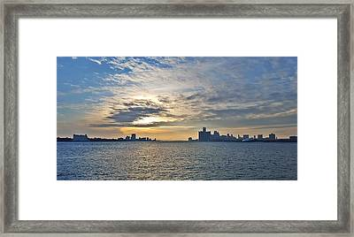 Pale Blue Dot Framed Print by 2141 Photography