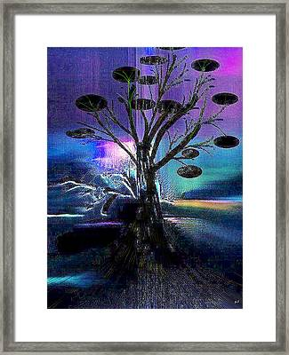 Pale Moonlight Framed Print