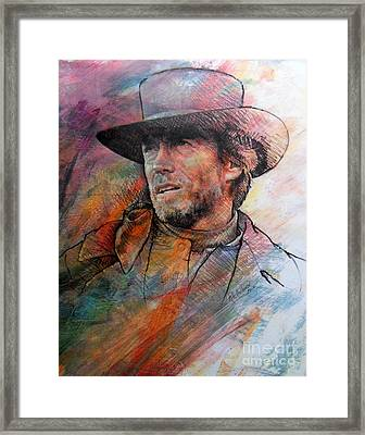 Pale Rider Framed Print by Rik Ward