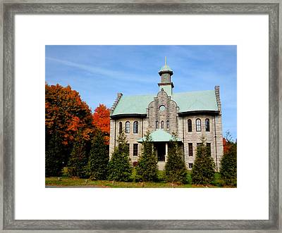 Palenville House 1 Framed Print by Lanjee Chee