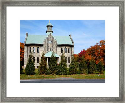 Palenville House 2 Framed Print by Lanjee Chee