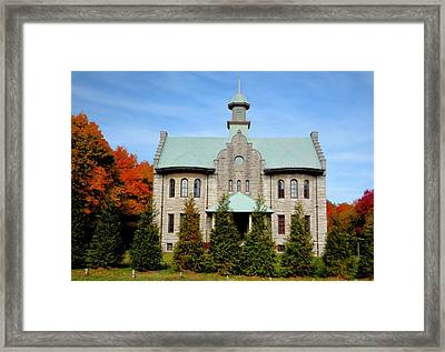 Palenville House 3 Framed Print by Lanjee Chee