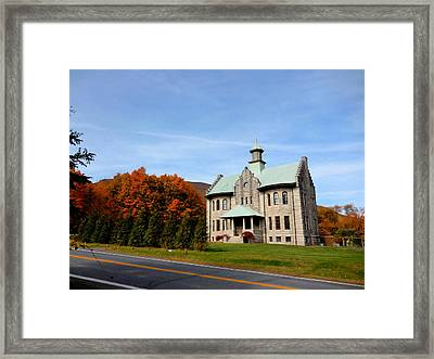 Palenville House 4 Framed Print by Lanjee Chee