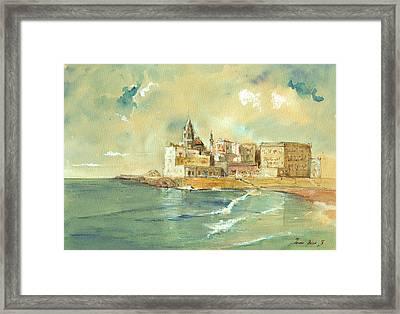 Palermo Sicily Italy Framed Print by Juan  Bosco