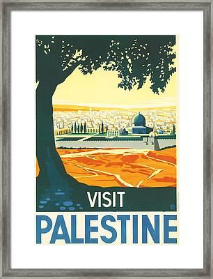 Palestine Framed Print by Georgia Fowler