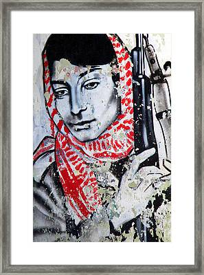 Palestinian Icon Framed Print
